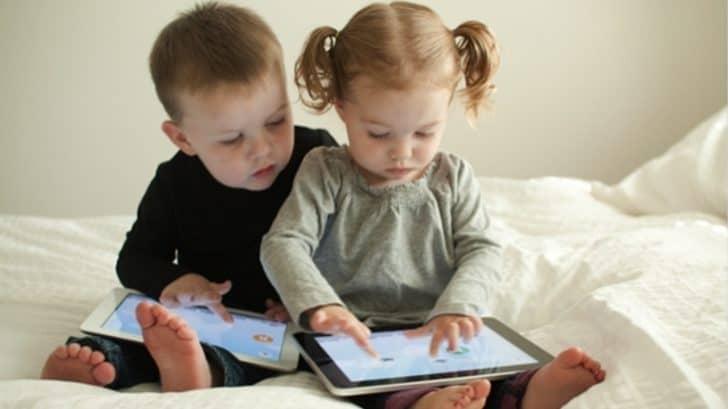 Photo of Küçük çocuklar ve teknoloji