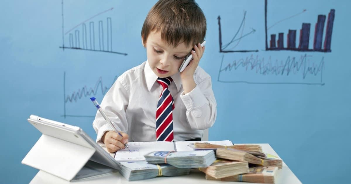 Photo of Çocuklar parayla tanışınca