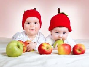 bebeklerde meyve sebze