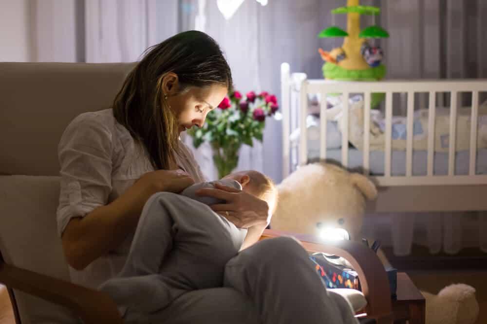 bebeklerde gece beslenmesii