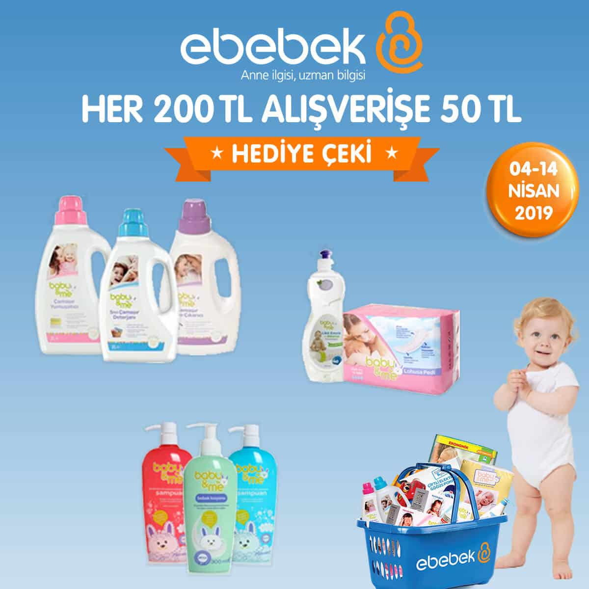 Bebek Bakım İhtiyaçları ve Çek Kampanyası
