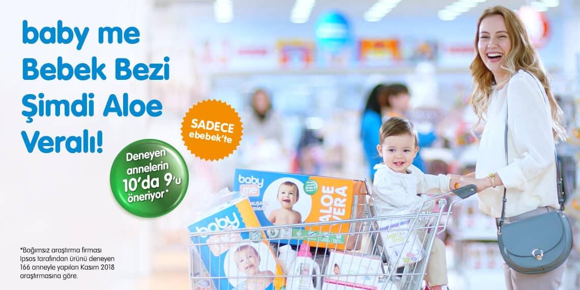 Photo of baby me Aloe Veralı Bebek Bezi Çıktı!