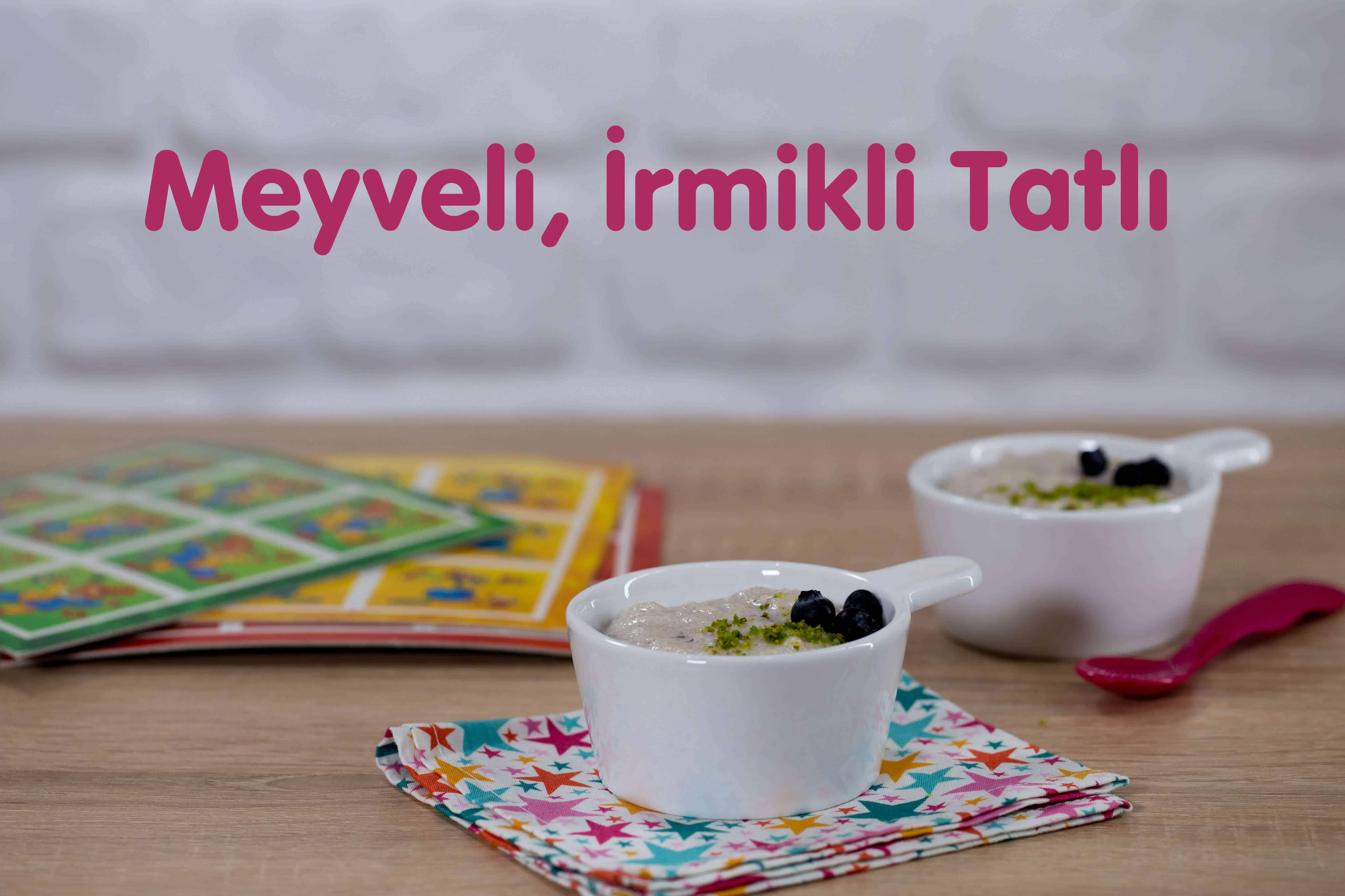 Photo of Meyveli İrmikli Tatlı Tarifi!