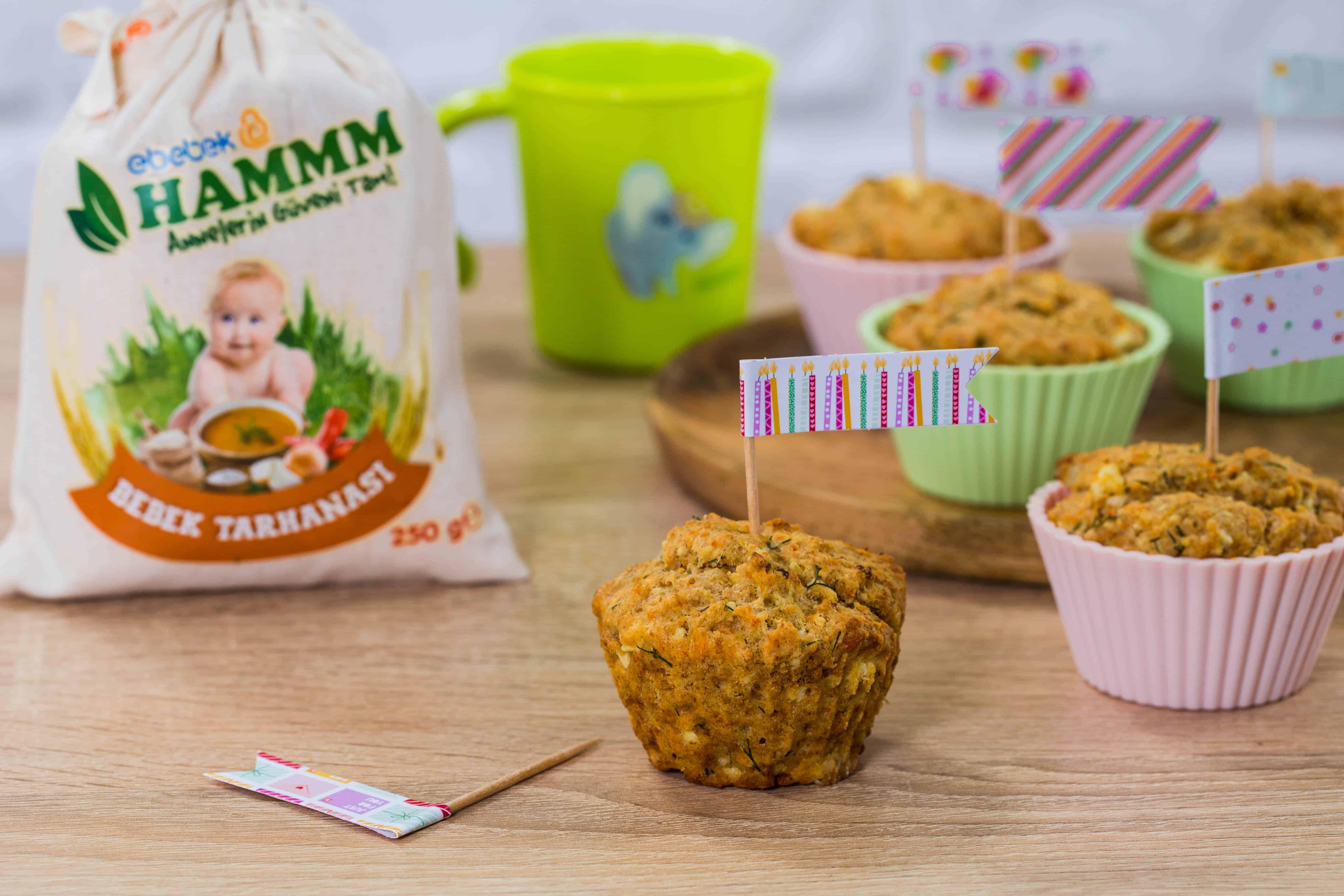 Photo of Bu Tarife Bebeğiniz Bayılacak; Tarhanalı Muffin!
