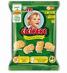 Sebzeli Bebek Bisküvisi