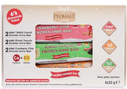 Promalt ve Vitamom's Barlar Çıktı!