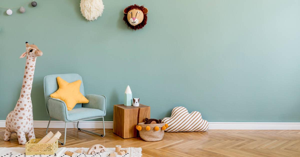 bebek odasinda yaratici dekorasyonlar